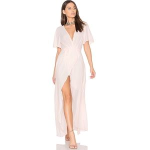 ASTR the Label Selma Maxi Dress Blush